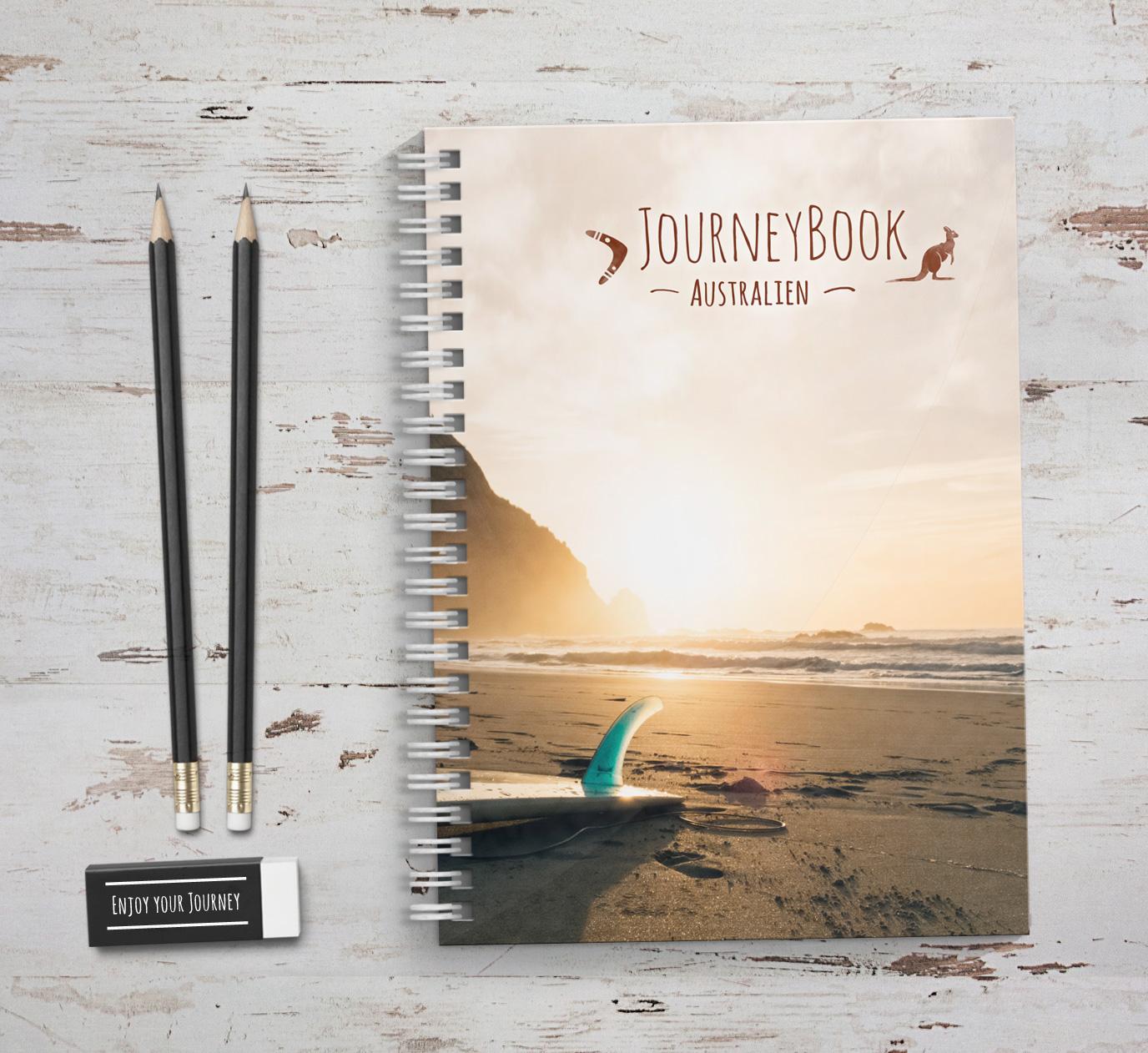 Reisetagebuch australien journeybook for Abschiedsgeschenk auslandsjahr
