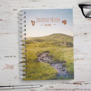 reisetagebuch für irland als abschiedsgeschenk für Reisende oder zum selber schreiben