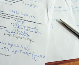 reise-erinnerungen aufschreiben und notieren
