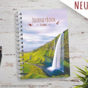 Reisetagebuch für Island als Abschiedsgeschenk