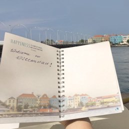 JourneyBook Reisetagebuch Mittelamerika in Curacao