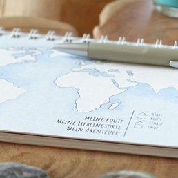 JourneyBook Reisetagebuch für die Weltreise