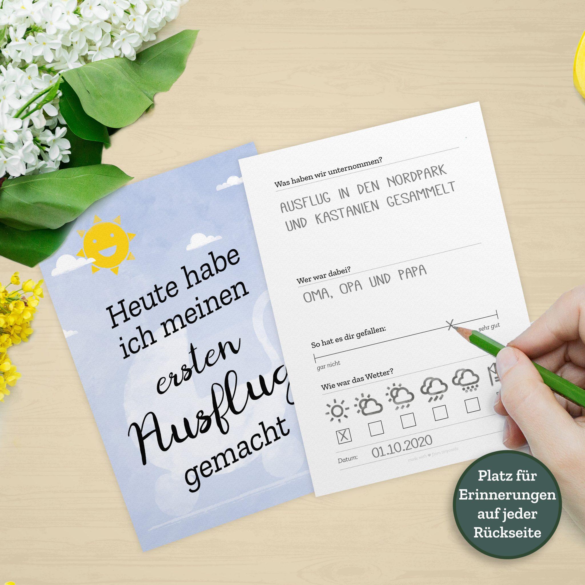 Briefumschlag Beschriften Zur Geburt : Tinycards zur geburt meilenstein karten für fotos