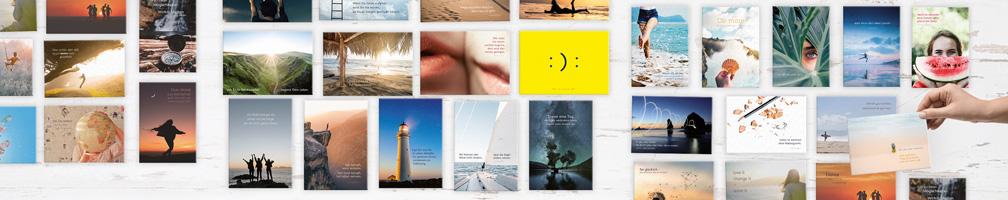praktische Postkarten-Sets